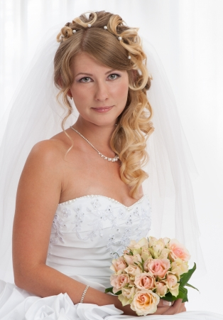 Bride portrait  Wedding dress Stock Photo - 14774499