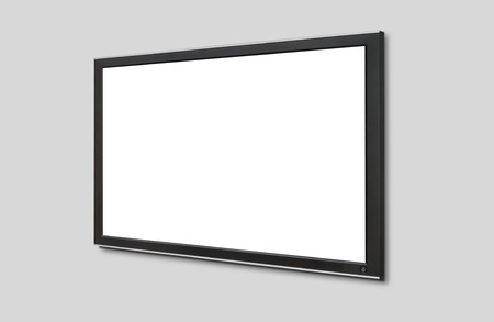 fullhd: Led tv hanging on the wall