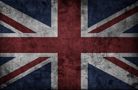 Grunge UK national flag photo