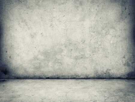 piso piedra: muro de hormig�n gris y suelo