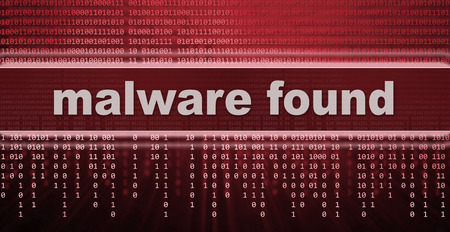 computer virus: malware. computer virus warning sign Stock Photo