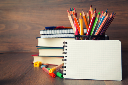 school stationary photo