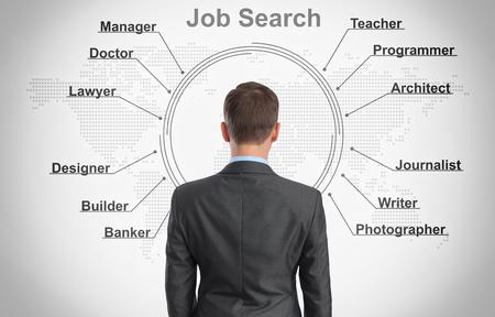 job search concept photo