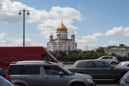 saviour: MOSCOW, RUSSIA - JUNE 24, 2016: Cathedral of Christ the Saviour Editorial