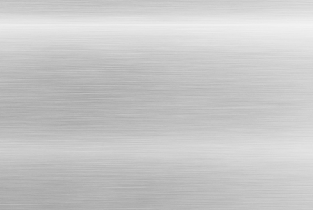 Grey metal background. Stainless steel texture. Polished aluminum