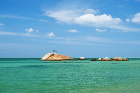 Koh Phangan island, Thailand in a summer day Stock Photo - 117343833