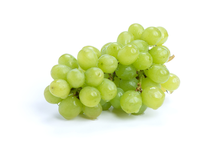 bunch of grapes isolated on a white background Stockfoto
