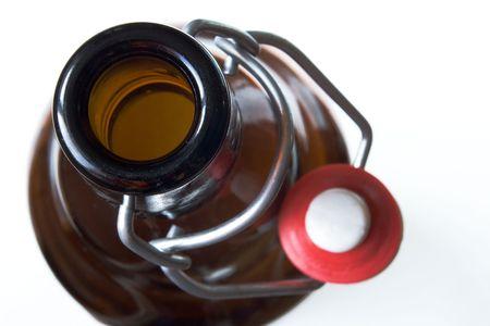 open beer bottle photo