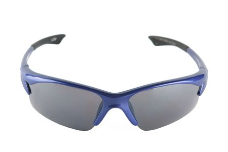 bicycle glasses isolated on white photo