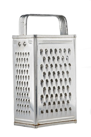 old-fashioned universal  kitchen grater Stock Photo