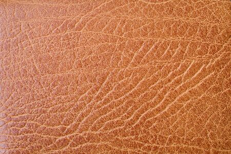 brown fine textured leather background Stock Photo