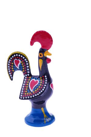 capon: rooster statuette - symbol of Portugal Stock Photo