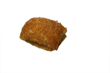 seasoned: single soft cookie covered with sugar and cinnamon