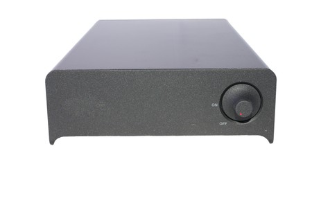 external hard disk drive: external hard disk drive isolated  on white