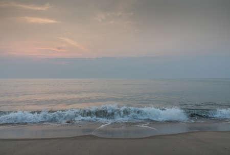 Wave on beach of southern Thailand. 版權商用圖片