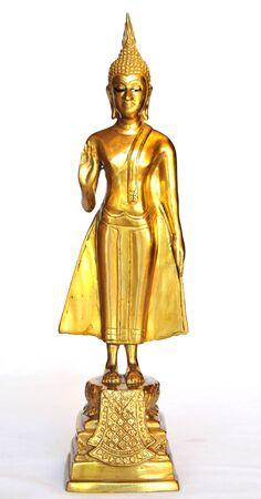 Buddha images on Monday Stock Photo