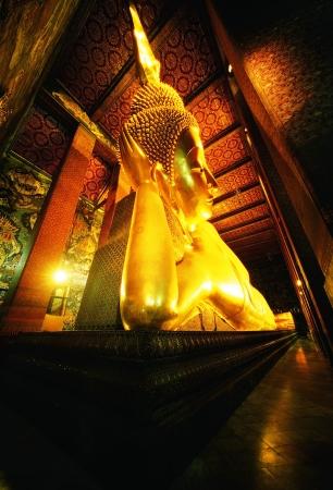 The Reclining Buddha at watpho thailand