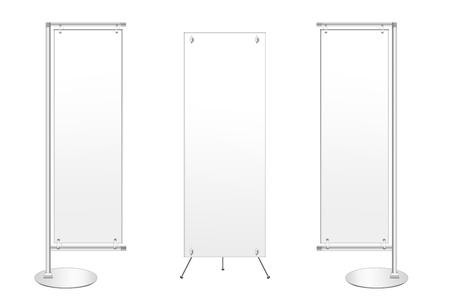 banner display template for work white bg 版權商用圖片