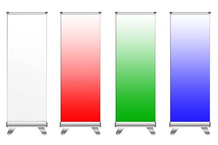 banner display template for work