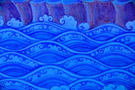 Waveguide pattern of thai art