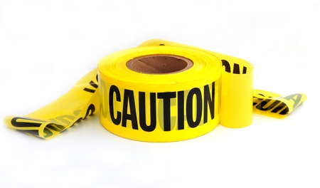 caution roll Stock Photo - 15637644