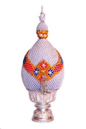 silver phum phan fo thai Stock Photo