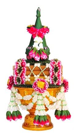 Flower fo thai culture