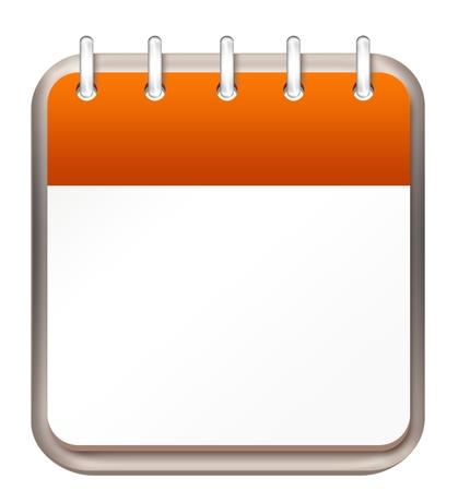 calendar orange template