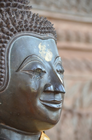 Buddha head blind in Laos Stock Photo - 18158954