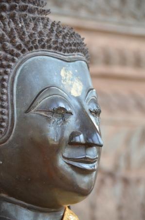 Buddha head blind in Laos Stock Photo - 18158954