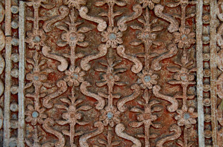 Floral wall plaster Stock Photo - 18173601