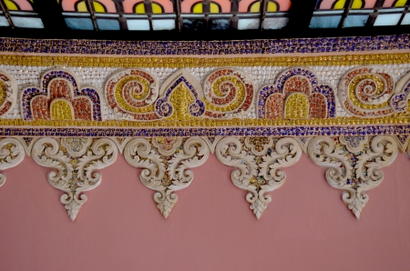 Thai mosaic Stock Photo - 18179802