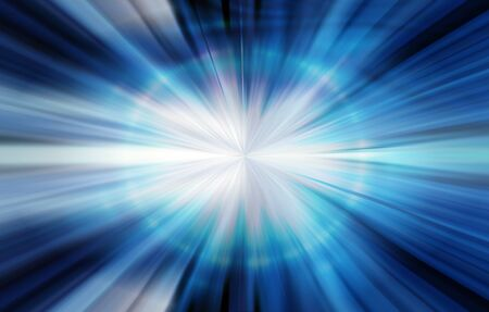 Abstract technology blue background photo