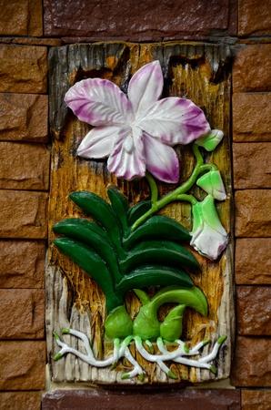 Ceramic orchid photo