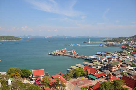 City by the Sea Khosichung Thailand Stock Photo - 18819626