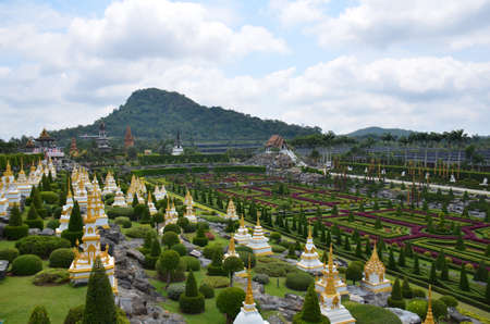 Pagoda Buddhist Memorial Garden Stock Photo - 18819682