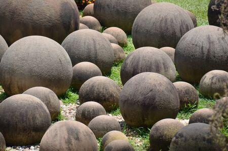 Round stone garden Stock Photo - 18819736