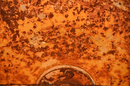 Rusty red wall Stock Photo - 18819724