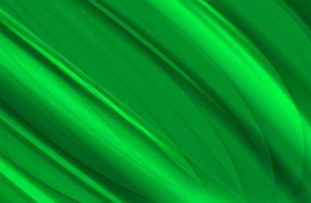 Abstract curve green background photo