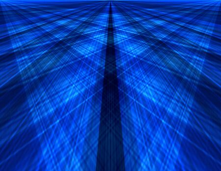 Abstract speed blue background Stock Photo - 19290044