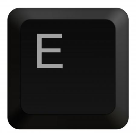 teclado numérico: Teclado E Botón negro