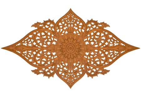 Wood carving thailand