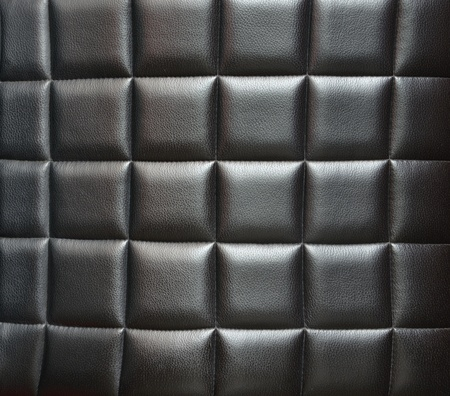 Leather padded leather background Stock Photo