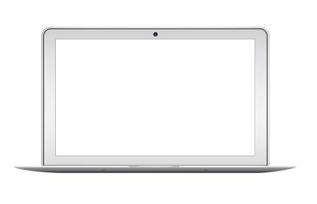 Portable moderne isolé sur fond blanc Banque d'images - 21798281