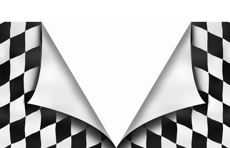 Background checkered flag photo