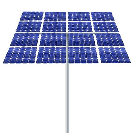 Solar cell panel photo