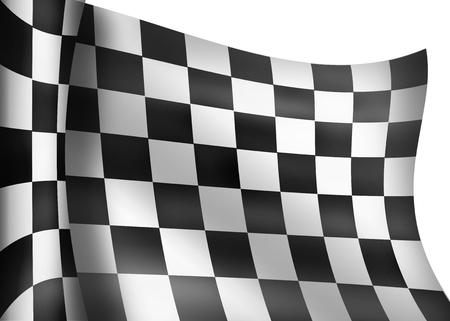 carrera de bandera a cuadros Foto de archivo - 23749411