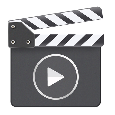Movie Media Player Clapboard photo