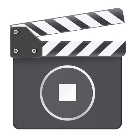 Clapboard Stop Button photo