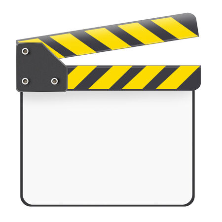 scalable: Scalable open clapboard white